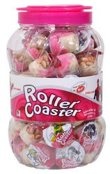 Roller Coaster Strawberry Chocolate Biscuit