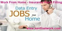 Data Entry Kenilnetwork Work From Home - Insurance Form Filling, Company Manpower: 20-50, Online