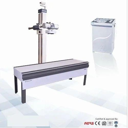 500 mA X-Ray Machine With Horizontal Bucky Table