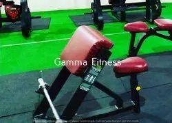 Gamma Fitness Preacher Curl Bench