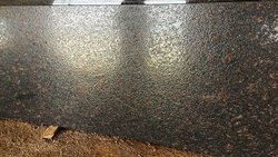 Polished Slab Brown Lapatto Granite, Thickness: 15-20 mm