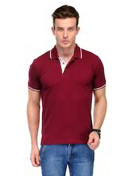 Men's Tipped Polo T-Shirt