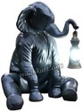 Sitting Elephant Statue With Lantern