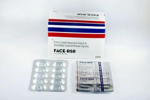 Rabeprazole Sodium & Aceclofenac Sustained Release Capsules