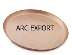 arc export Copper Tray, Size: 35 X 35 Cm