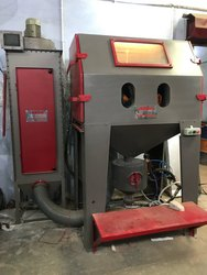 Semi Automatic Sand Blasting Machine