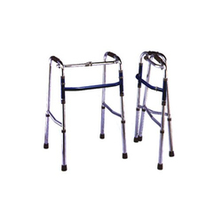 Adjustable Walker-with Wheels/Without Wheels