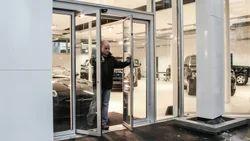 Escape Routes Glass Doors