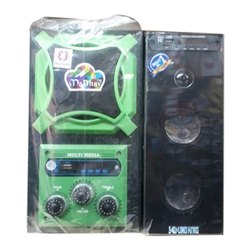 Black, Green Madhav 20 W USB Multimedia Music Player