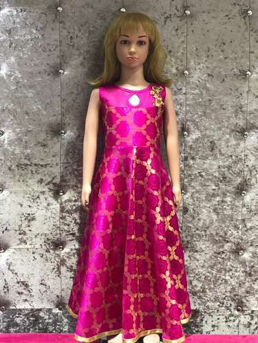 34108c3c55ad0 Embroidery Silk Bollywood Dress For Kids, Rs 1000 /piece, Devi ...
