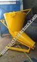 Side Discharge Tower Crane Concrete Bucket Cap 0.500 M3