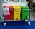 Bio Medical Waste Trolley 25 Ltr 3 Bin