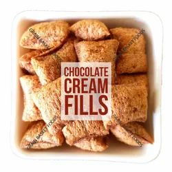 FIT FOODIE Pillows Chocolate Cream Fills, 1 Kilograms, Packaging Type: Laminated Hdpe Woven Sack