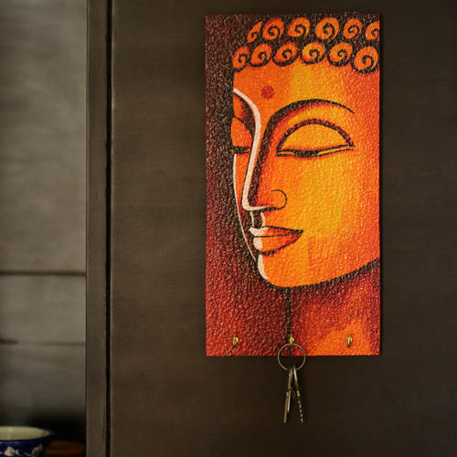 ExclusiveLane Lord Buddha Hand Painted Key Holder eba7fb8b2