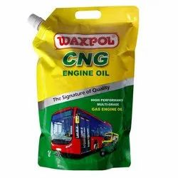 Waxpol CNG 20W/50 Engine Oil-1 lt, Packaging Type: Pouch,Poly Container