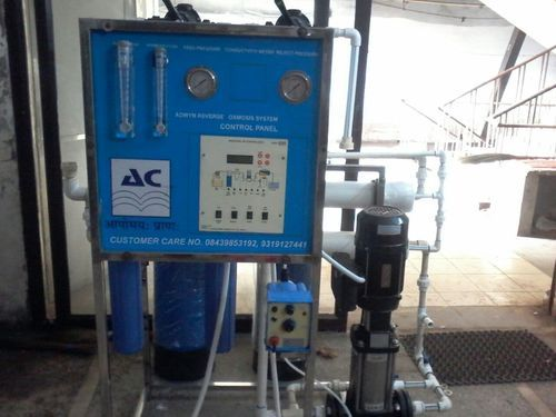 FRP RO Water Purification Plant, 200-500
