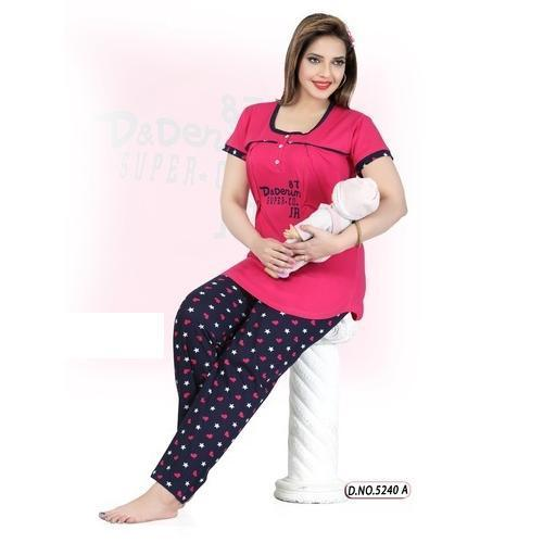 f586db26b77 Printed Designer Feeding Night Suit