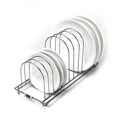 Stainless Steel Plate Stand  sc 1 st  IndiaMART & Stainless Steel Plate Stand at Rs 800 /piece | Plate Racks | ID ...