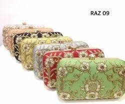 Embroidered Velvet Box Bags Raz 09