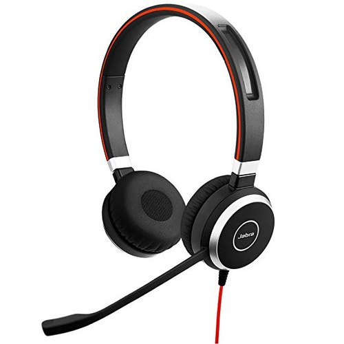 Wireless ABS Jabra Evolve 65 UC Duo Headset, Weight: 0.646 Kg