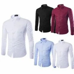 Plain Men Shirts