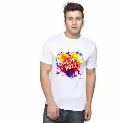 Micro Pp Formal Wear Holi special printed T-shirt