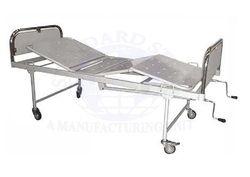 standard steel White Hospital Full Fowler Bed, Size: 72x36x24