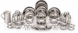51 Pcs Stainless Steel Dinner Set