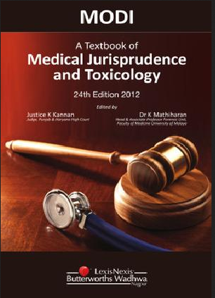 Forensic Medicine And Toxicology Modi A Textbook Of Medical Jurisprudence And Toxicology Manufacturer From Mumbai