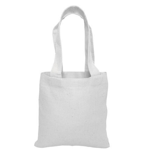 White Plain Non Woven Fabric Bag