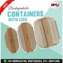 Biodegradable Container With Lid