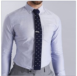 Cotton Plain Slim Fit Mens Shirts