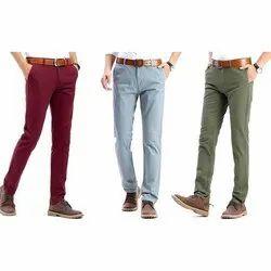 Status Mens Casual Cotton Trouser
