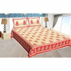 Khadi Work Double Bedsheet