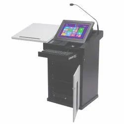 Electronic Lectern Podium Saatvik SIL-514