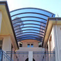Polycarbonate Entrance Structures