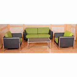 4 Seater Office Sofa Set
