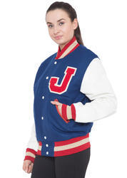Bright Royal College Varsity Jacket