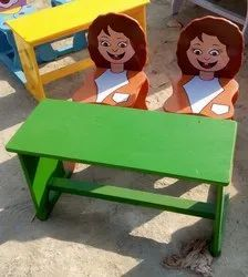The Lancers Wood Kids Bench, For Schools
