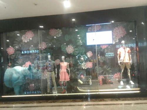 Customized Window Display Service, India