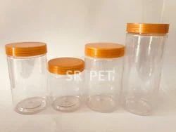 Round Bakery Pet Jars