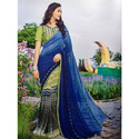 Vimal Georgette Ladies Saree, Without Blouse Piece