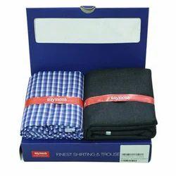 Plain Cotton/Linen Pant Shirt Piece