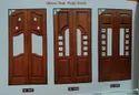 Pooja Teak Wood Door