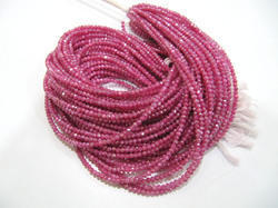 Ruby Moonstone AB Coated Beads