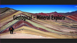 Geological - Mineral Exploration Service