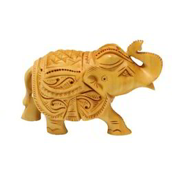 Wooden Hand Work Elephant