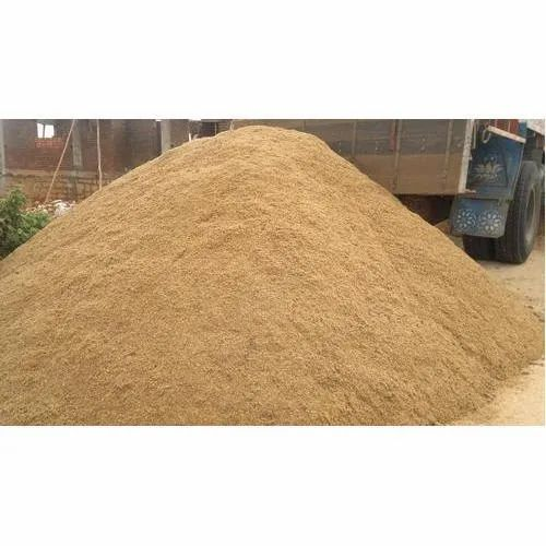 Rock Brown River Sand, For Construction, Packaging Type: Hdpe Bag