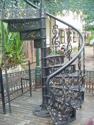 Modular Cast Iron Staircase