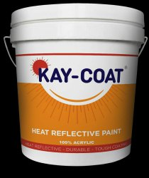 KAY COAT Matt Thermal Insulation Paint, Liquid, Packaging Size: 5kg 20kg